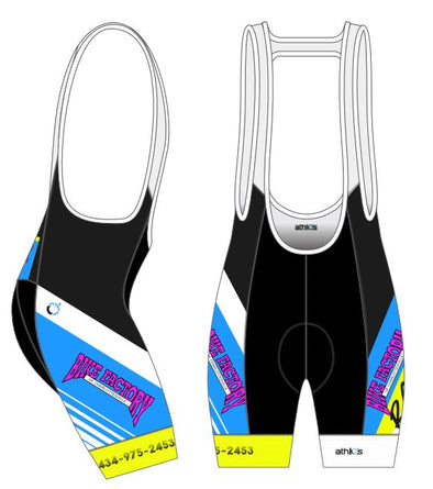 Split-Zero Bib-Short Women's - 90s - BFC