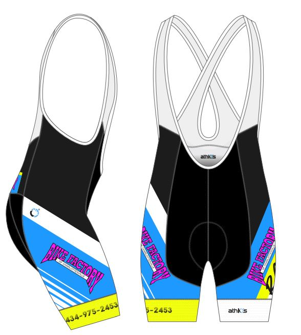 SQUAD-ONE Bib-Short Women - 90s - BFC