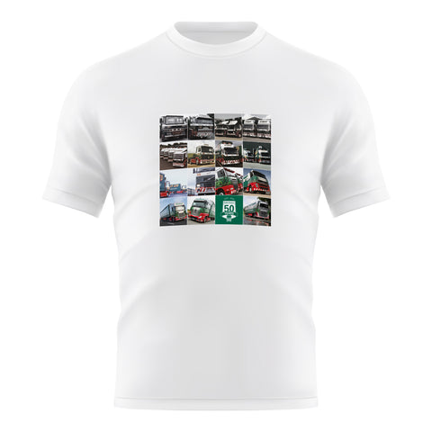 50 Years Trucks T-Shirt Adult (C2020A)
