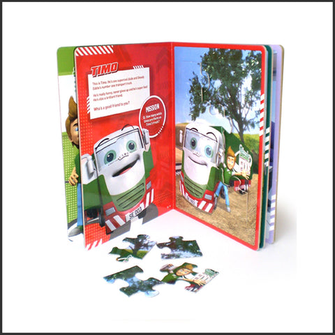 Steady Eddie Jigsaw Book (SE007)