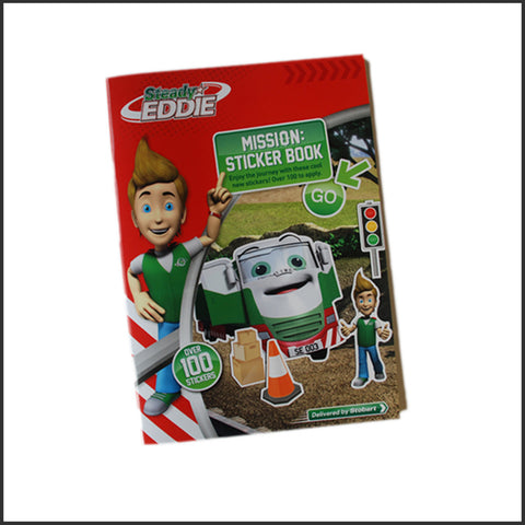 Steady Eddie Sticker Book (SE008)