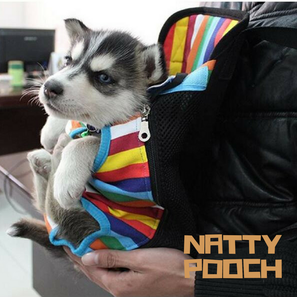 Natty Pooch Doggy Back Pack