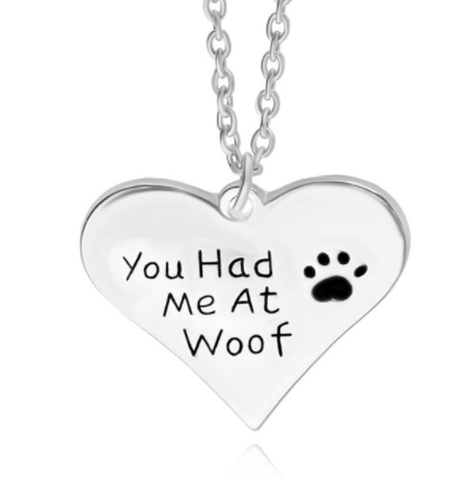 FREE Heart Shaped Dog Lover Necklace-Natty Pooch