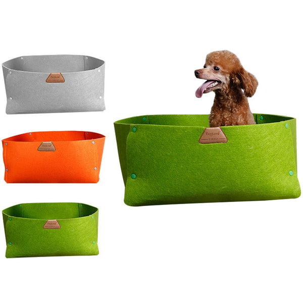 Summer Yoga Day Eco Friendly Portable Dog Bed Basket-Pet-Natty Pooch