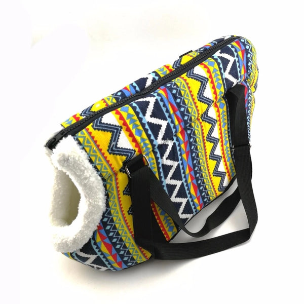 Moroccan Style Carpet Dog Leisure Carrier Case Bag