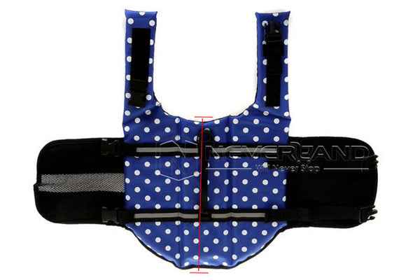 Dog Life Jacket & Pet Swimming Vest