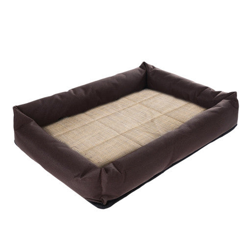 Oxford Cloth Dog Bed Cooling Bed Cushion Basket