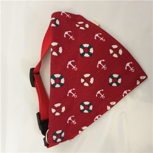 Adjustable Dog Collar Puppy Scarf