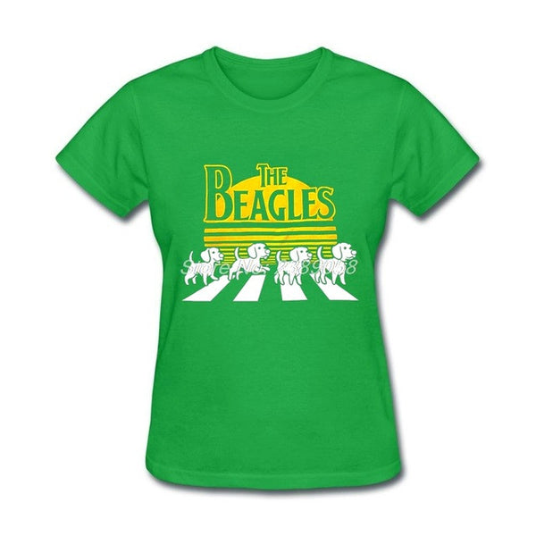 Casual t shirt The Beagles Dog tshirt for Women