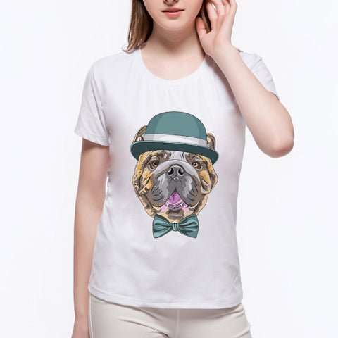 Womens Novelty Short Sleeve Tee
