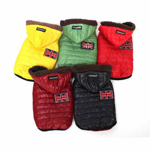 Dog Winter Warmer Puffer Jacket - UK Style