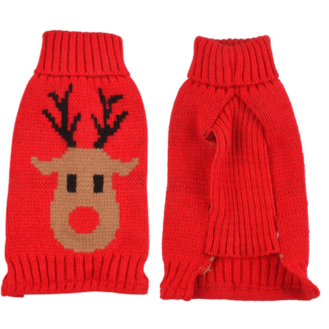 Dog Christmas Knitted Jumper Sweater