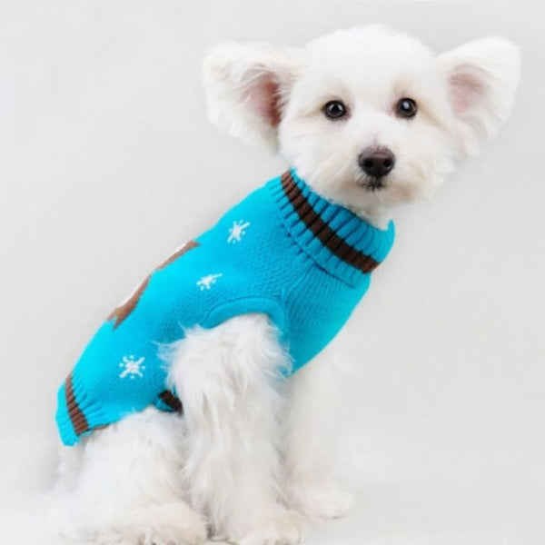 Winter Owl Doggy Jumper