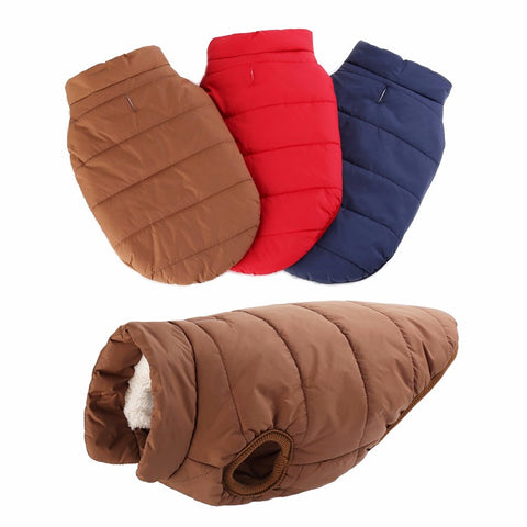Winter Warmer Waterproof Dog Jacket