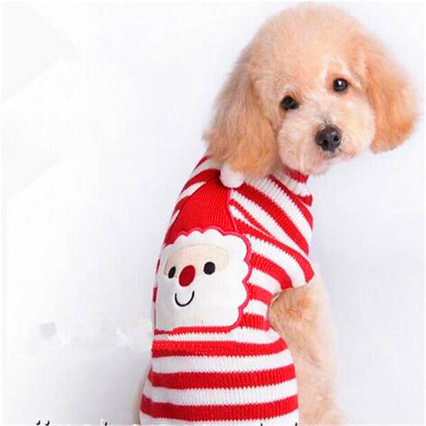 Christmas Dog Sweater Clothes