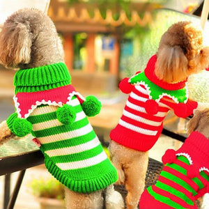 Christmas Bells Dog Jumper