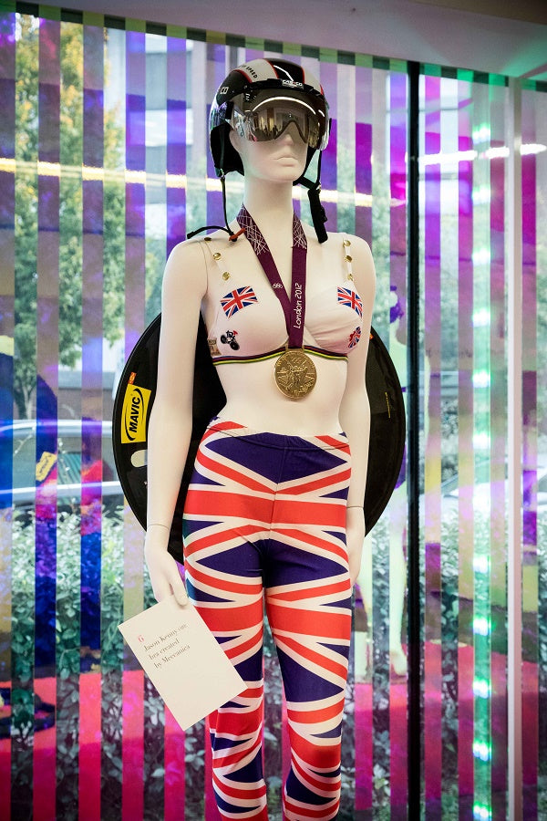 Meccanica Designs Jason Kenny Signed Bra for WalktheWalk Charity