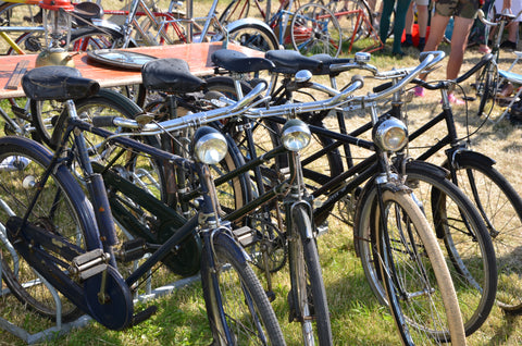 More vintage bikes at Eroica Britannia 2017 Meccanica Clothing