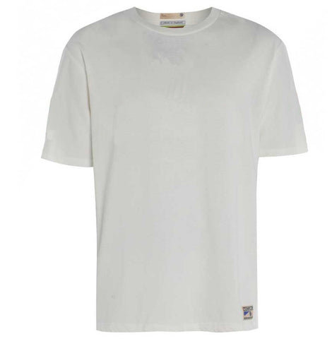 Made in Britain plain white T-shirt by Meccanica