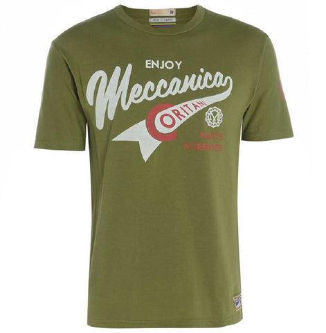 Meccanica-british-made-olive-t-shirt-enjoy
