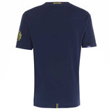 Meccanica Clothing Classic Men's British Made Fun Between Screen-Print T-Shirt Navy Blue