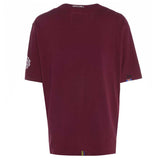 Meccanica Clothing Classic 'Fun' Screen-Print T-Shirt Burgundy