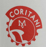 meccanica centurion motive logo right sleeve screen print