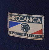Meccanica-british-made-polo-shirt-navy-blue-screen-print-4