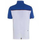 Meccanica-british-made-zip-neck-polo-shirt-royal-blue-white-2