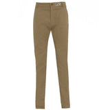 British made beige narrow leg chino jeans - triple stitched