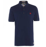 Meccanica-british-made-polo-shirt-navy-blue-screen-print-1