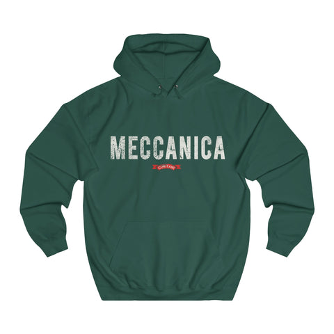 Meccanica Men's Hoodie 'Logo' Britrish Racing Green
