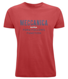 Meccanica Clothing Classic Men's British Form Follows T-Shirt Red
