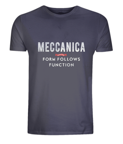 Classic Men's T-Shirt - Form Follows Function Navy
