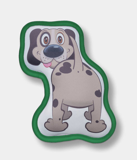 MUTT BUTTS® Toy Christmas Edition Green For Medium and Large Dogs
