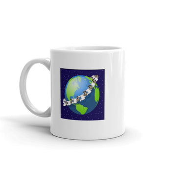 MUTT BUTTS® Around the World Mug
