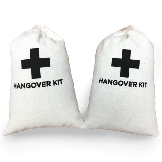 Hangover Kit Favor Bag - 4