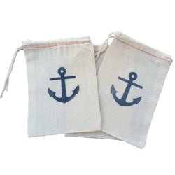 Anchor Party Favor Bags | Nautical Favor Bags | Beach Favor Bags