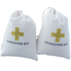 Gold Sparkle Hangover Kit (5 Pack)