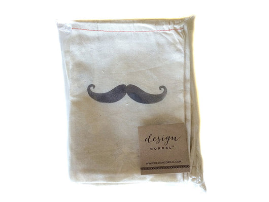 Men's Favor Favor Bags - Mustache (Set of 10)