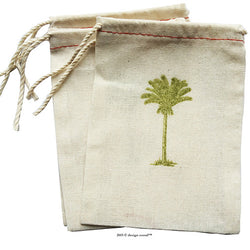 Palm Tree Favors Bags