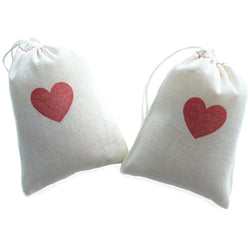 Heart Party Favor Bags | Love Favor Bags