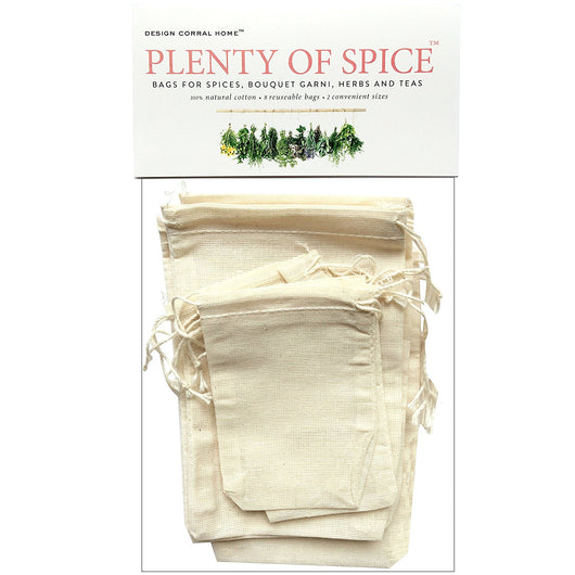 Spice Bags (8pk) Assorted Sizes
