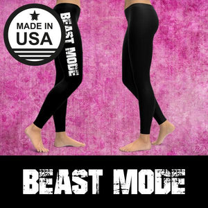 Beast Mode - Active Gear Tights Xs / Black