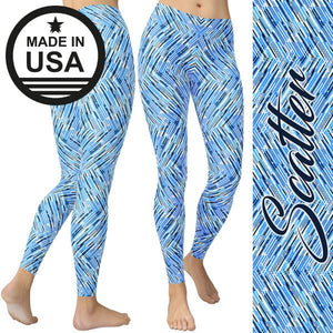 Scatter - Active Gear Tights Xs / Blue