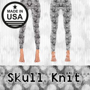Skull Knit - Active Gear Tights