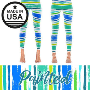 Painted - Active Gear Tights Xs / Green