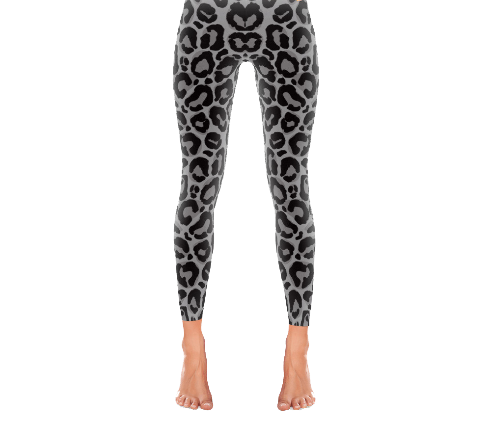 Grey Leopard - Active Gear Tights