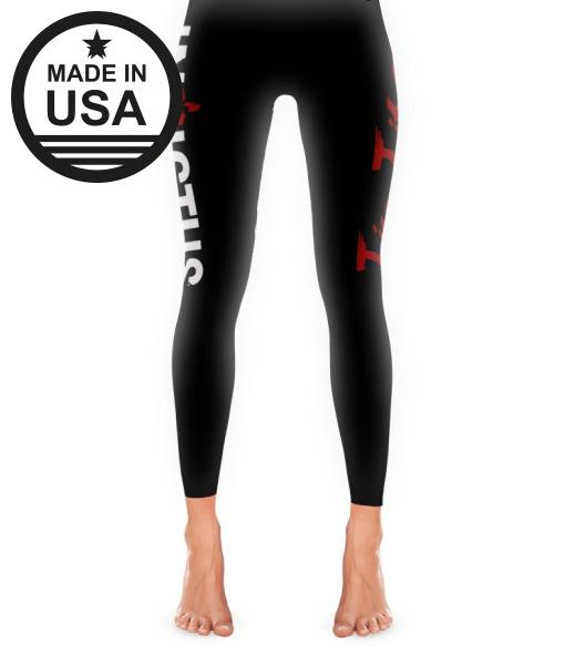 Invictus Jiu Jitsu - Leggings Xs / Black