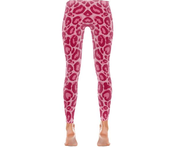 Pink Leopard - Active Gear Tights